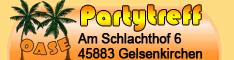 Partytreff Oase 234*60